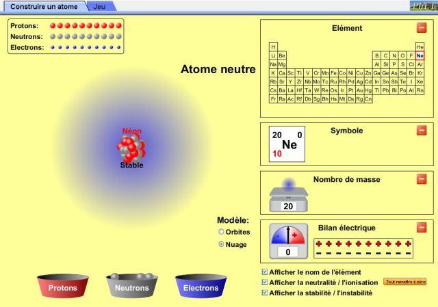 devoir sur atome nano math